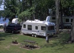 Lake Bruin camping